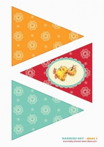 baby shower banners for boy